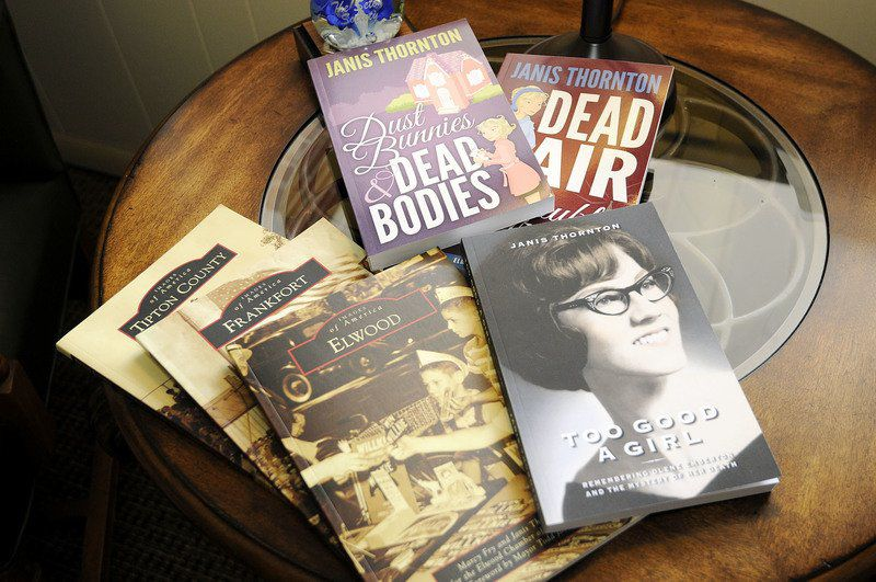 Elwood chamber's office manager turns from writing mystery novels to true crime