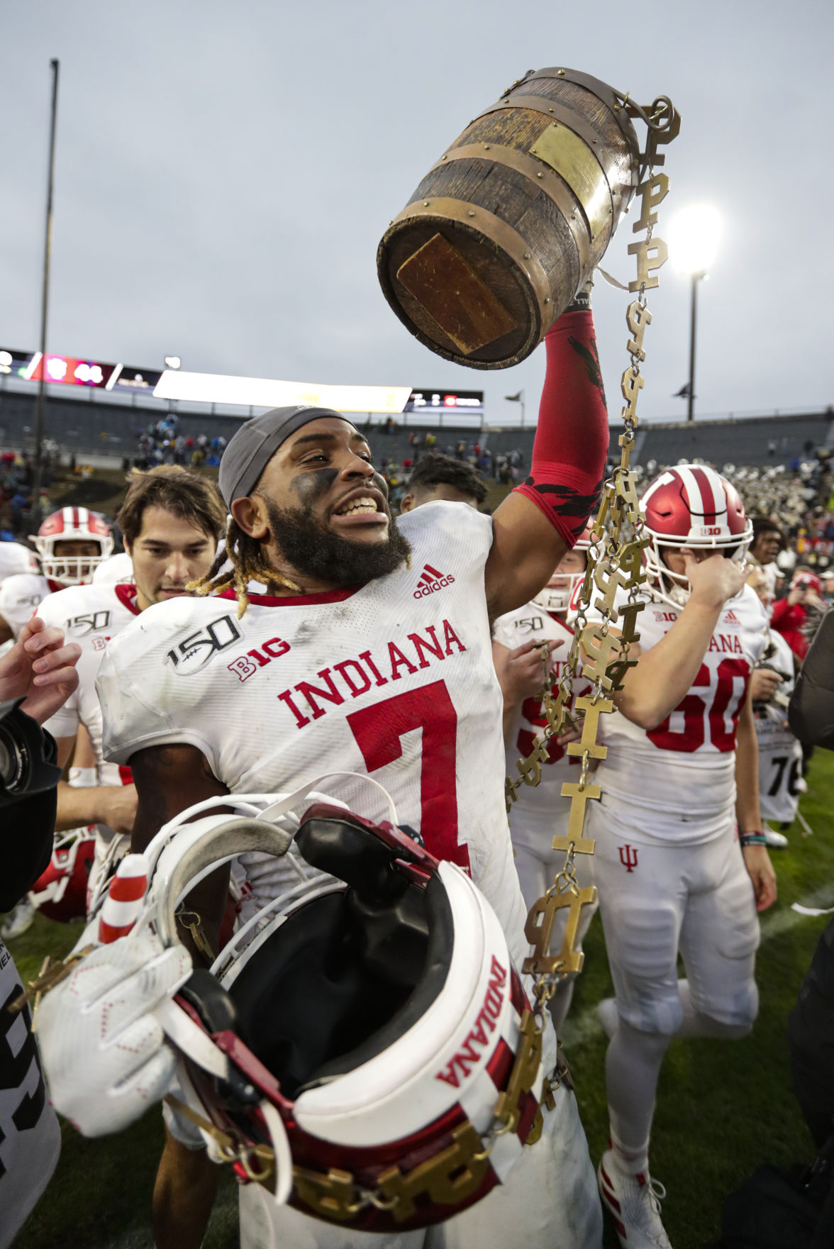 IU football players adjust to Pro Day cancellation ...