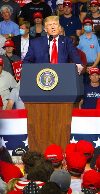 Trump in Tulsa