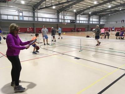 Former tennis players find low-impact substitute in pickleball