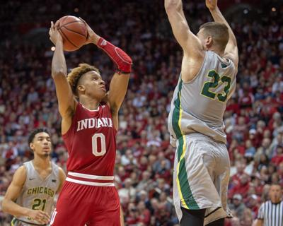 new style b8a6b 737c2 Langford scores 17 in first half to lead IU in opener ...