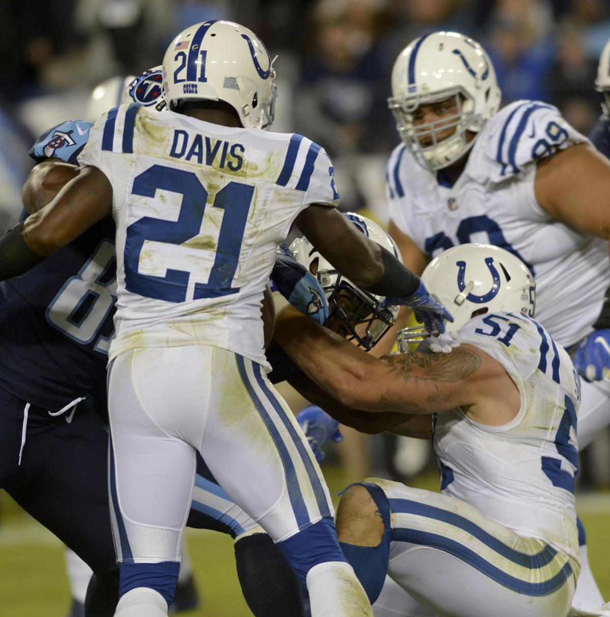 Colts Notebook Davis remains at center of trade talk