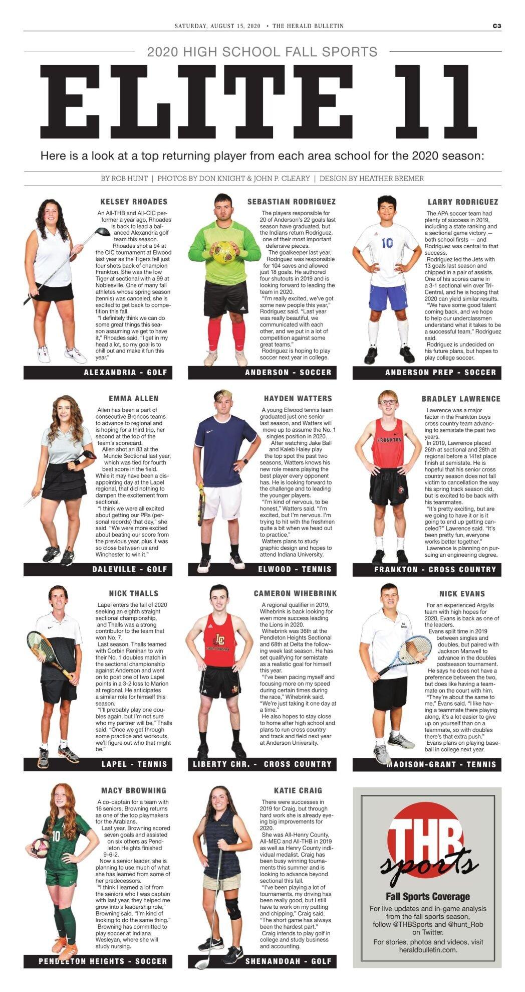 ELITE 11: Fall Sports