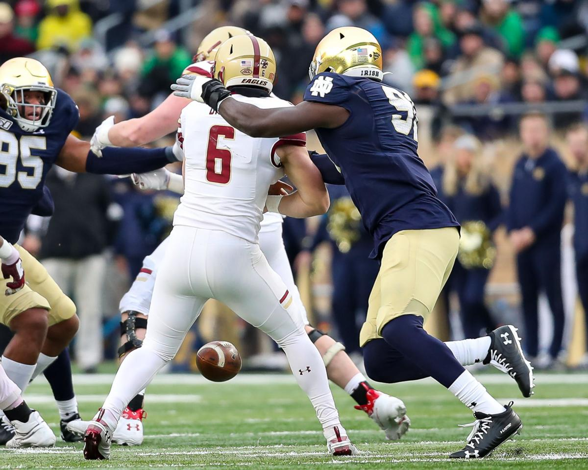NOTRE DAME FOOTBALL: Irish dominate Boston College on Senior Day