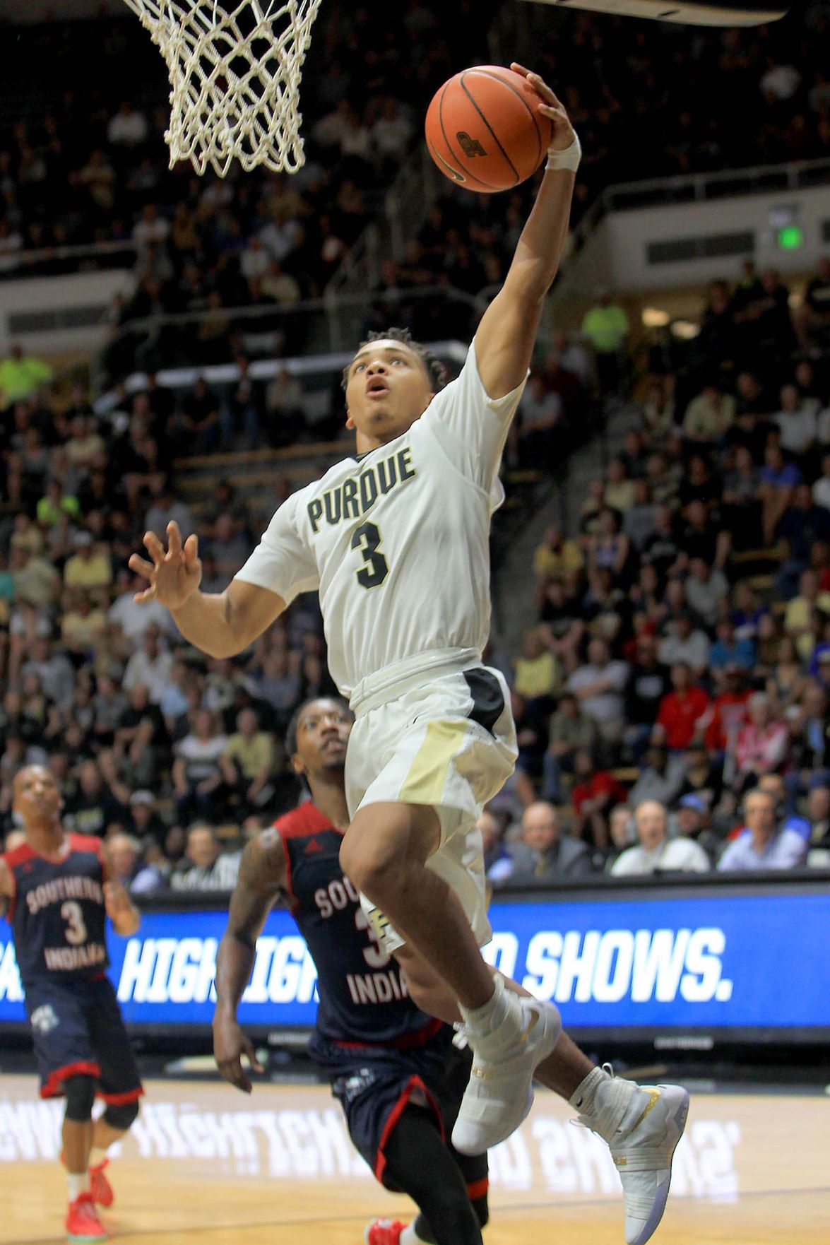 Purdue Freshman Edwards Prepares For His Debut