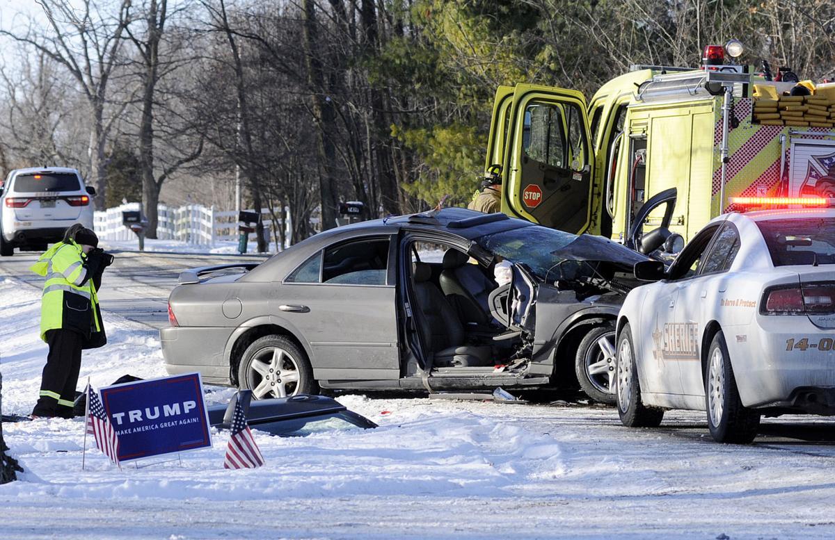 Two injured in crash near Lapel | Local News | heraldbulletin.com