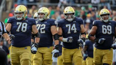 ND FOOTBALL POSITION BREAKDOWNS: Offensive line boasts depth, injury concerns