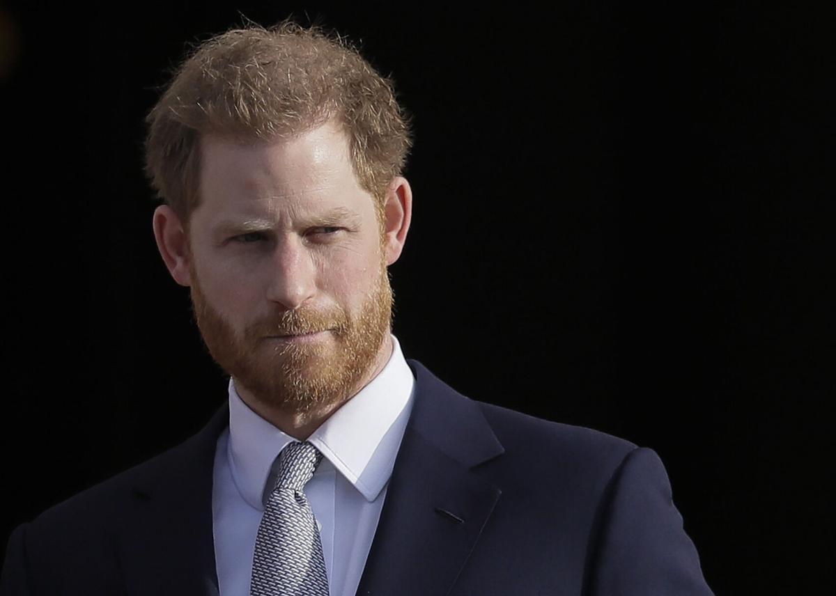 Britain-Royal Rift-Harry