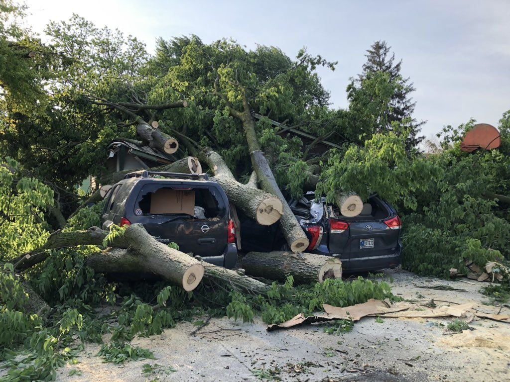 Pendleton storm damage