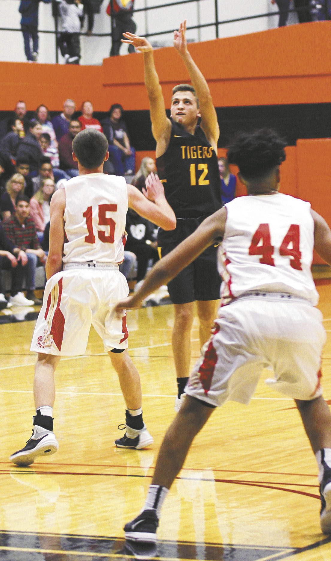 Tigers shoot poorly play well in topping Lions