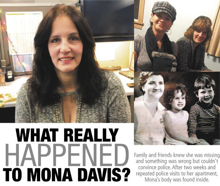 What really happened to Mona Davis?