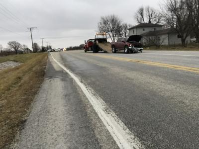 A Head On Collision On Indiana 9 North Of Alexandria Sent Three People To The Hospital For Minor Injuries Sa Ay Afternoon The Roadway Was Closed For