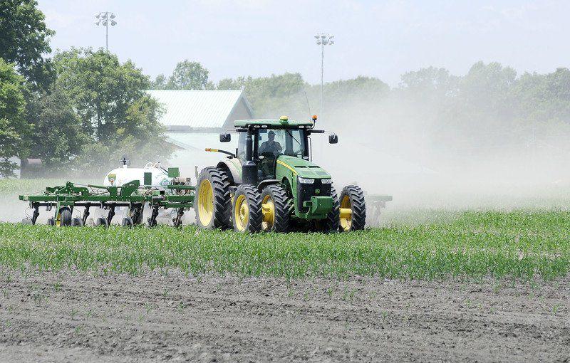 Indiana farm schene