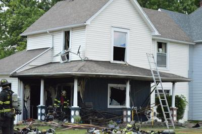 Multiple units respond to Alexandria fire