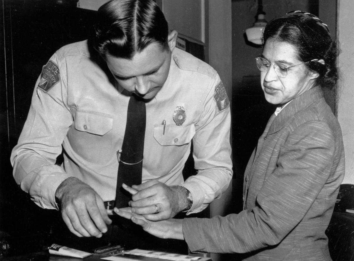 Rosa Parks MLK Records