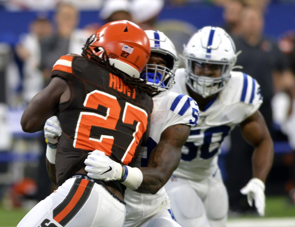 sports shoes 8722a 97b6e Colts defense focused on details, not notoriety | Colts ...