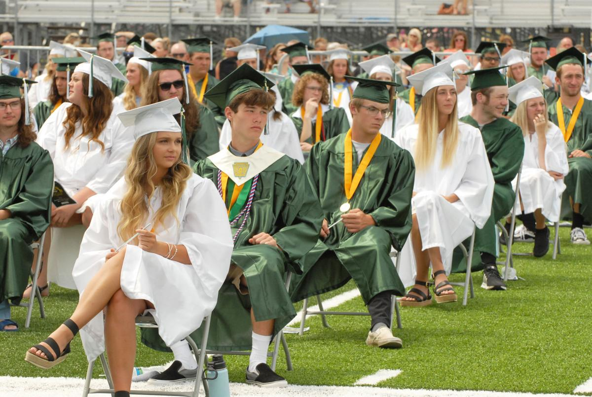 Pendleton Heights Graduates Celebrate At Outdoor Commencement News Heraldbulletin Com