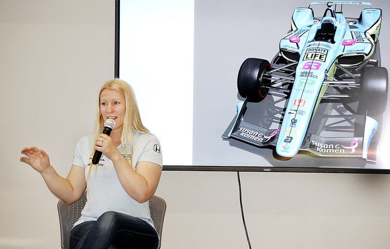 Pippa Mann talks about challenges to finance Indy 500 entry