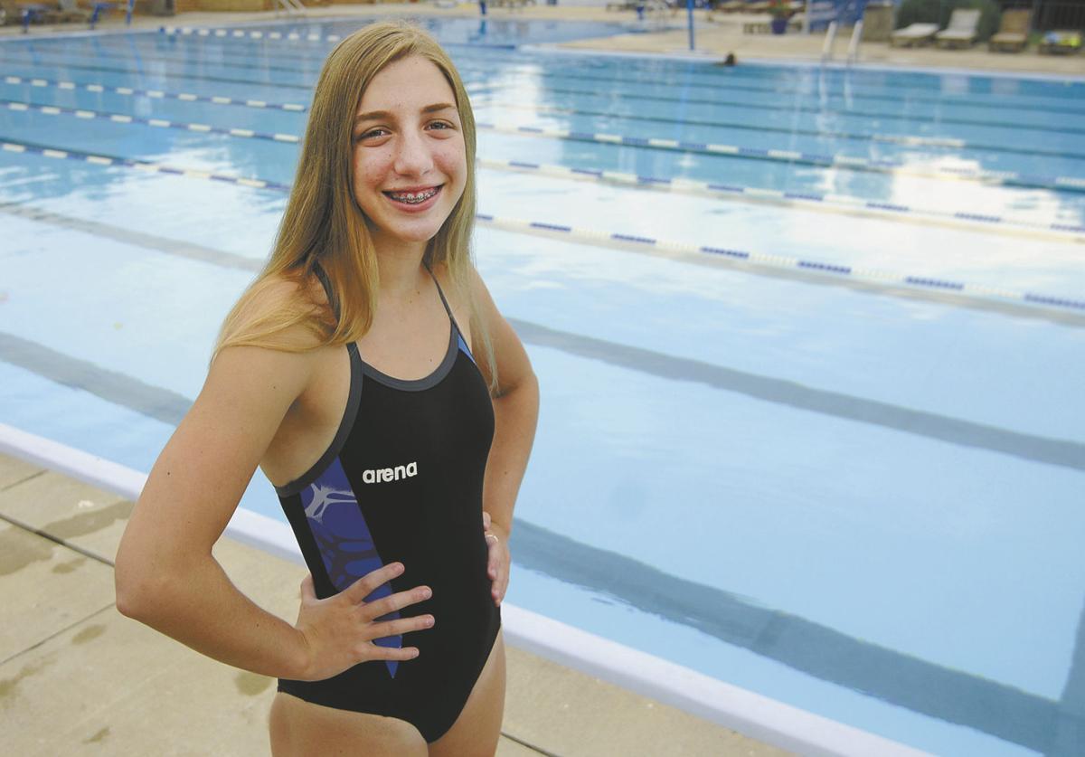 Swimmer Teen 18
