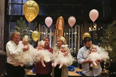 A year of quads: Gardner girls celebrate first birthday 02