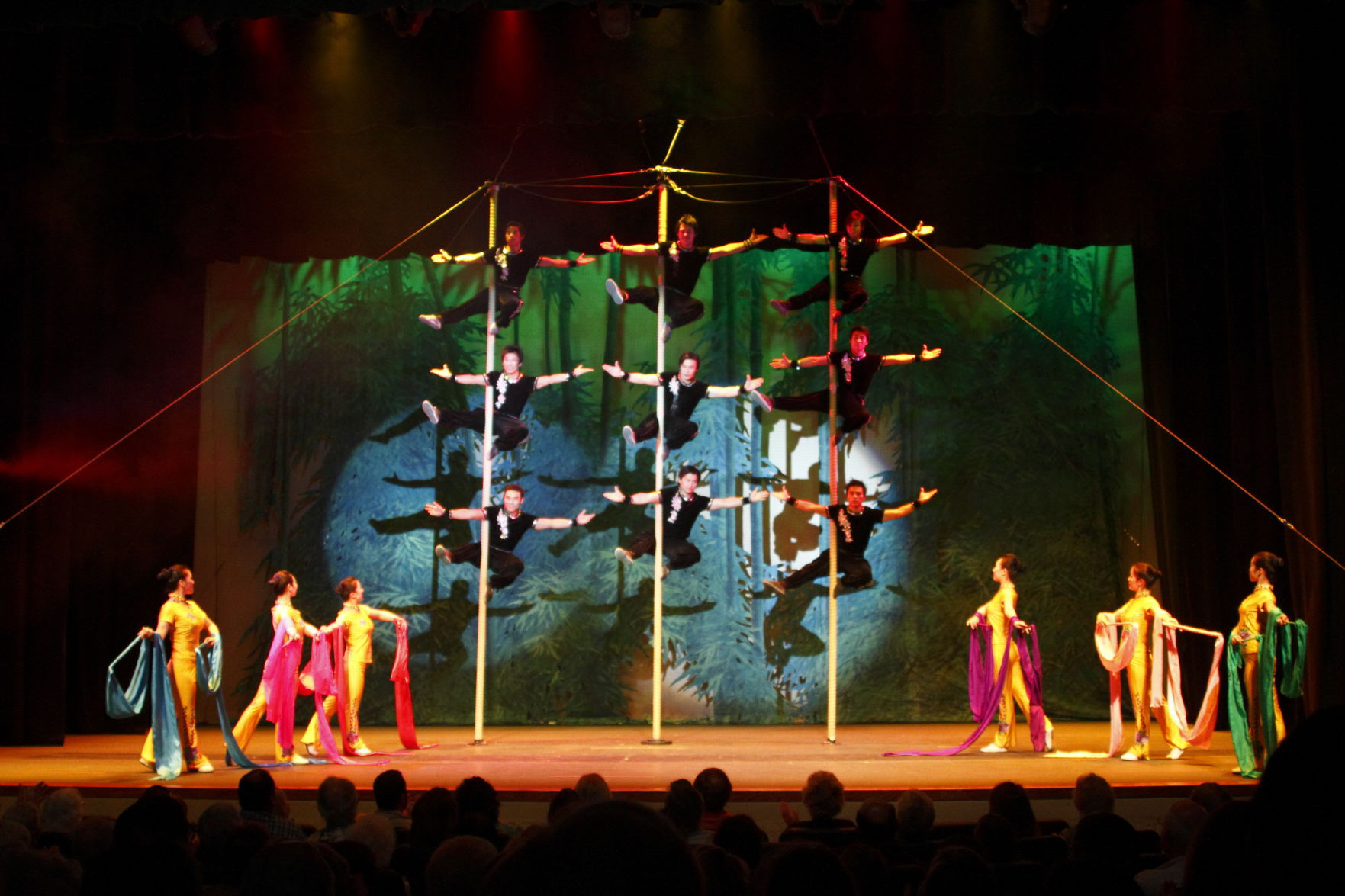 Peking Acrobats Scheduled To Perform At Brigham Young University