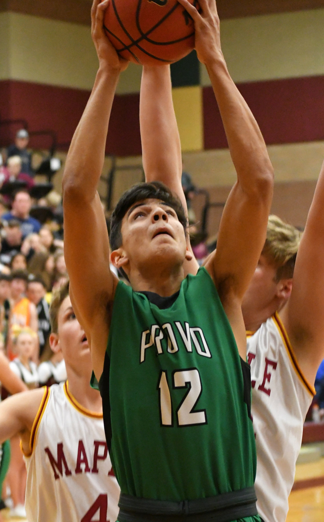 Maple Mountain boys basketball beats Provo 7