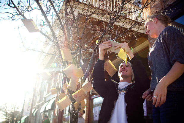 BYU students create non-traditional art in downtown Provo