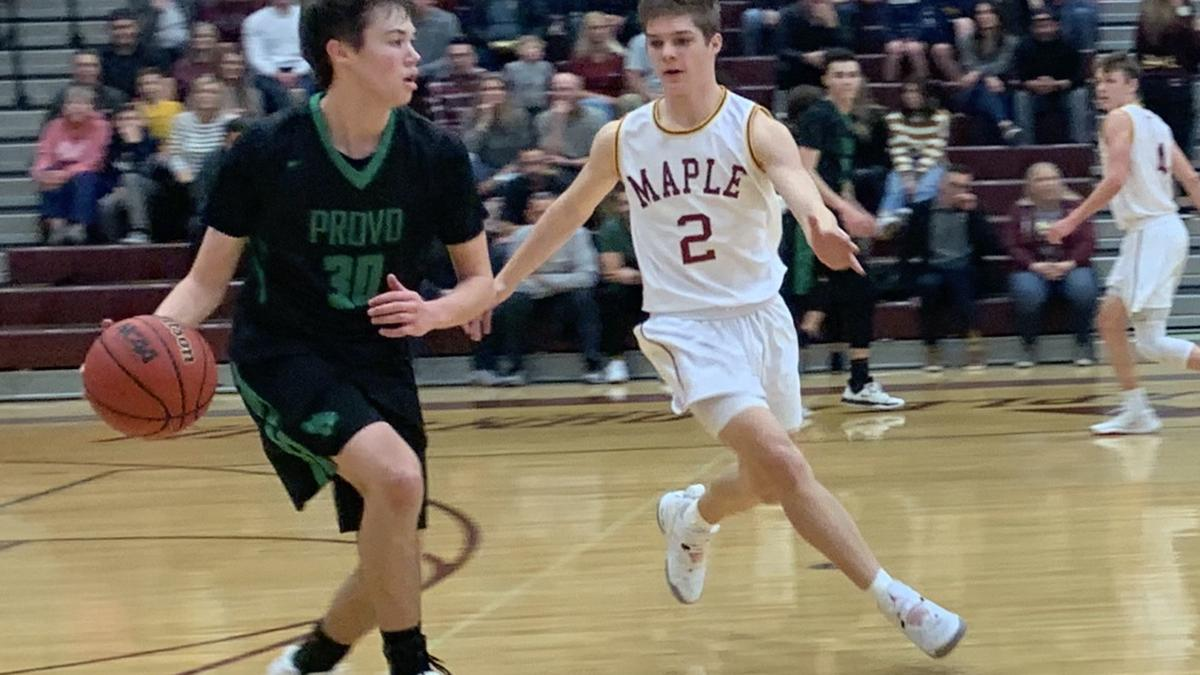 Provo upsets Maple Mountain in 5A state boys basketball tournament