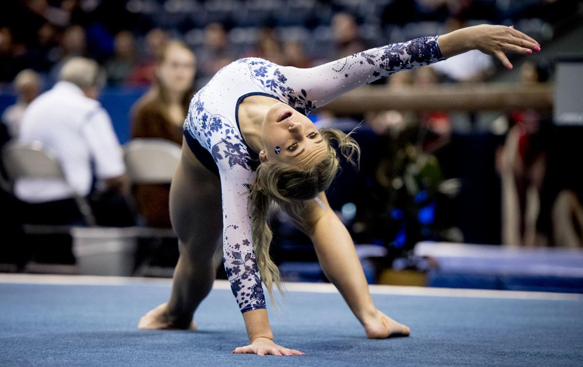 BYU gymnastics vs. Nebraska 01