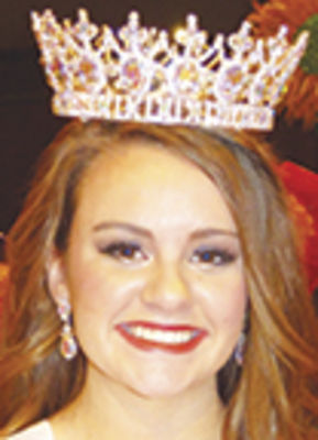 Holly Ward wins Miss Berrien Springs pageant title