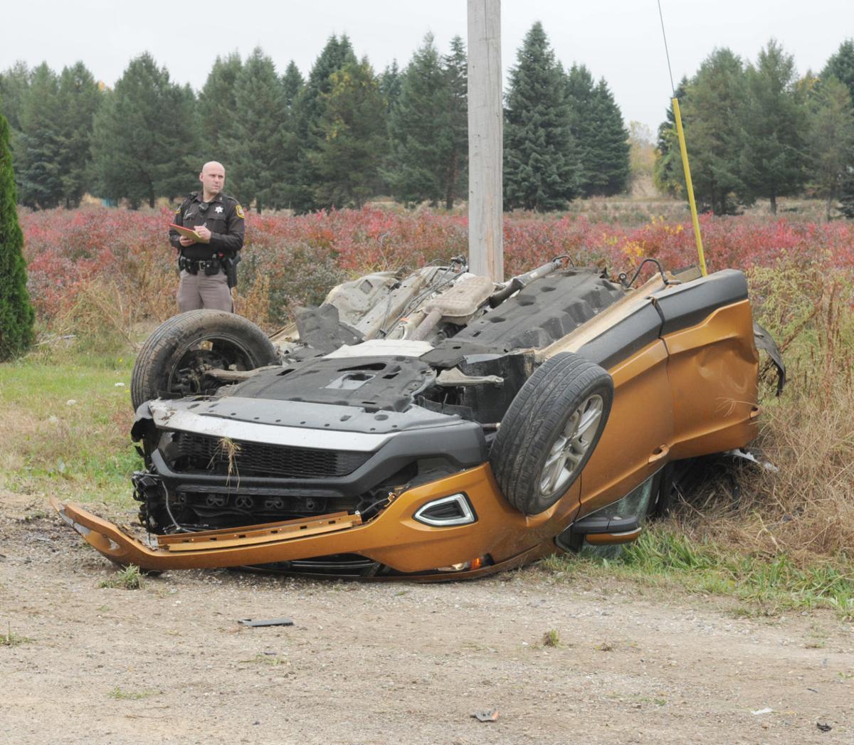 fatal car crash tan car