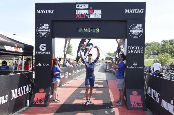 'A perfect day for a triathlon'