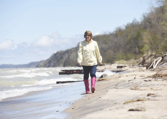 A Lake Michigan treasure hunt