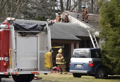 Union Pier home heavily damaged by fire