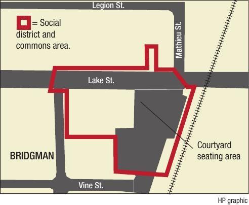 Bridgman Social District