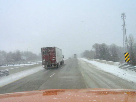 Snow plow cameras coming in handy for MDOT | Local News ...