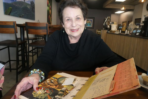 Sharing recipes and stories from an old family cookbook
