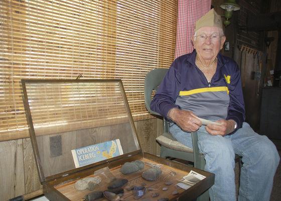 At 97, World War II vet stays busy