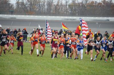 Bridgman girls win state cross country title