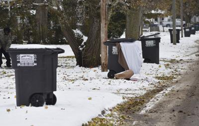 Trash being collected but questions remain