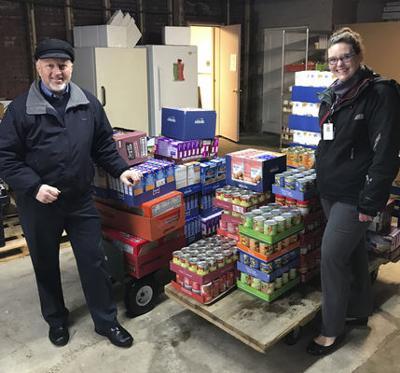 CFCN donates nonperishables to food pantry