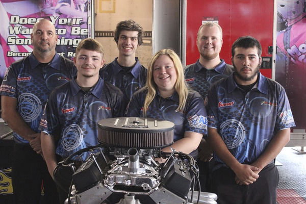 Engine Build Team takes 2nd place in Las Vegas