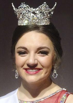 Boughner crowned Miss Bridgman