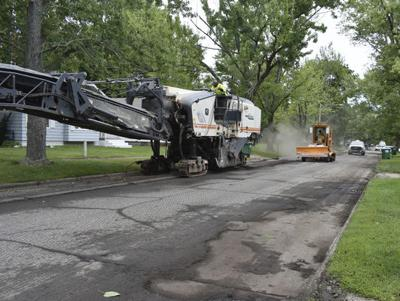 Street repairs using BH city income tax money almost done