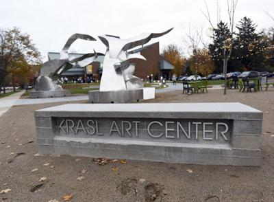 Krasl working to complete sculpting project fundraising