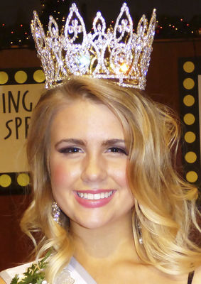 Kittleson crowned Miss Berrien Springs