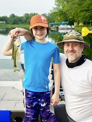 Showing youngsters the joy of fishing