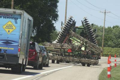 Be careful around farm vehicles, sheriff's department urges
