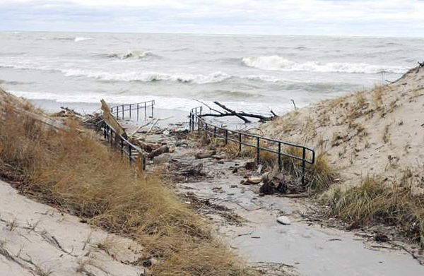 Commissioners want lakeshore declared a disaster area