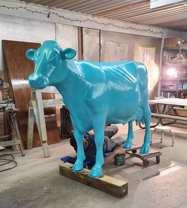 Blue Moo restoration